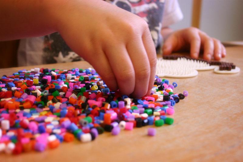 Materialien fördert Kreativität