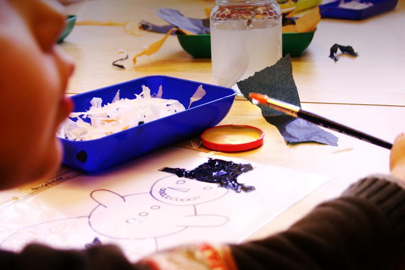 Unterricht im Schulkindergarten